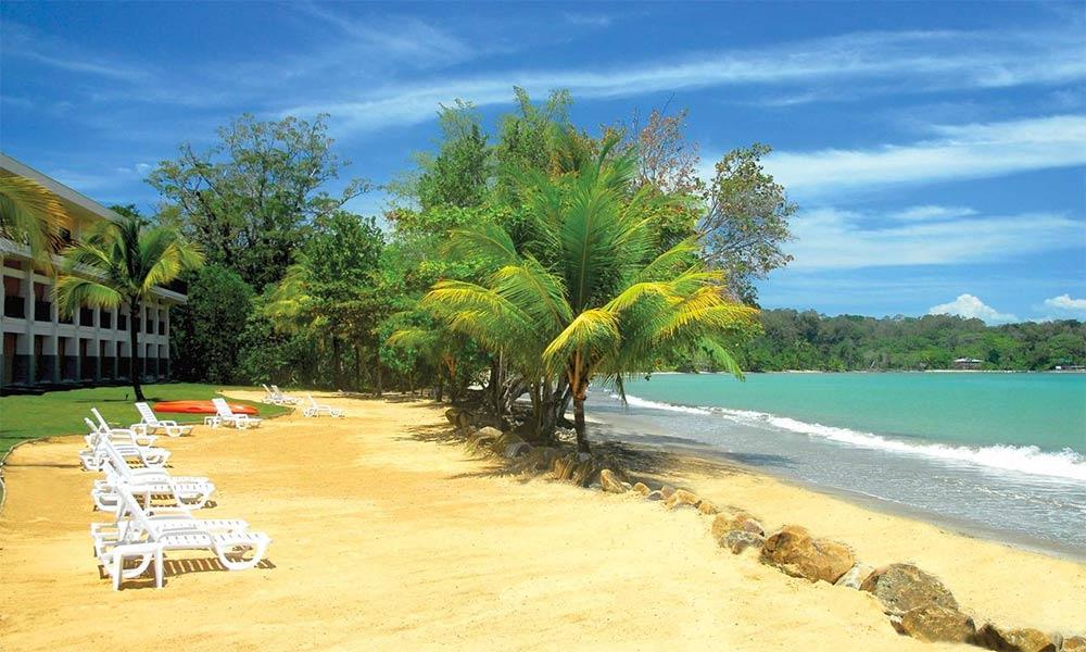 Playa Tortuga-Bocas del Toro (Panamá)